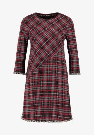 VEST LOVERPOOL - Strikket kjole - carmin