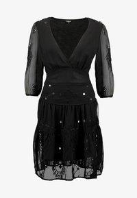 Desigual - VEST NAILA - Robe d'été - black - 4