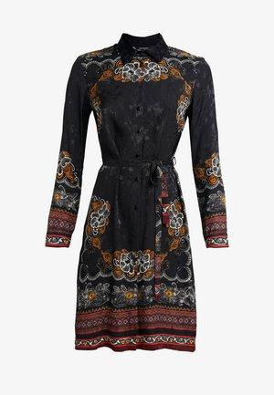 VEST SUAM - Skjortklänning - black