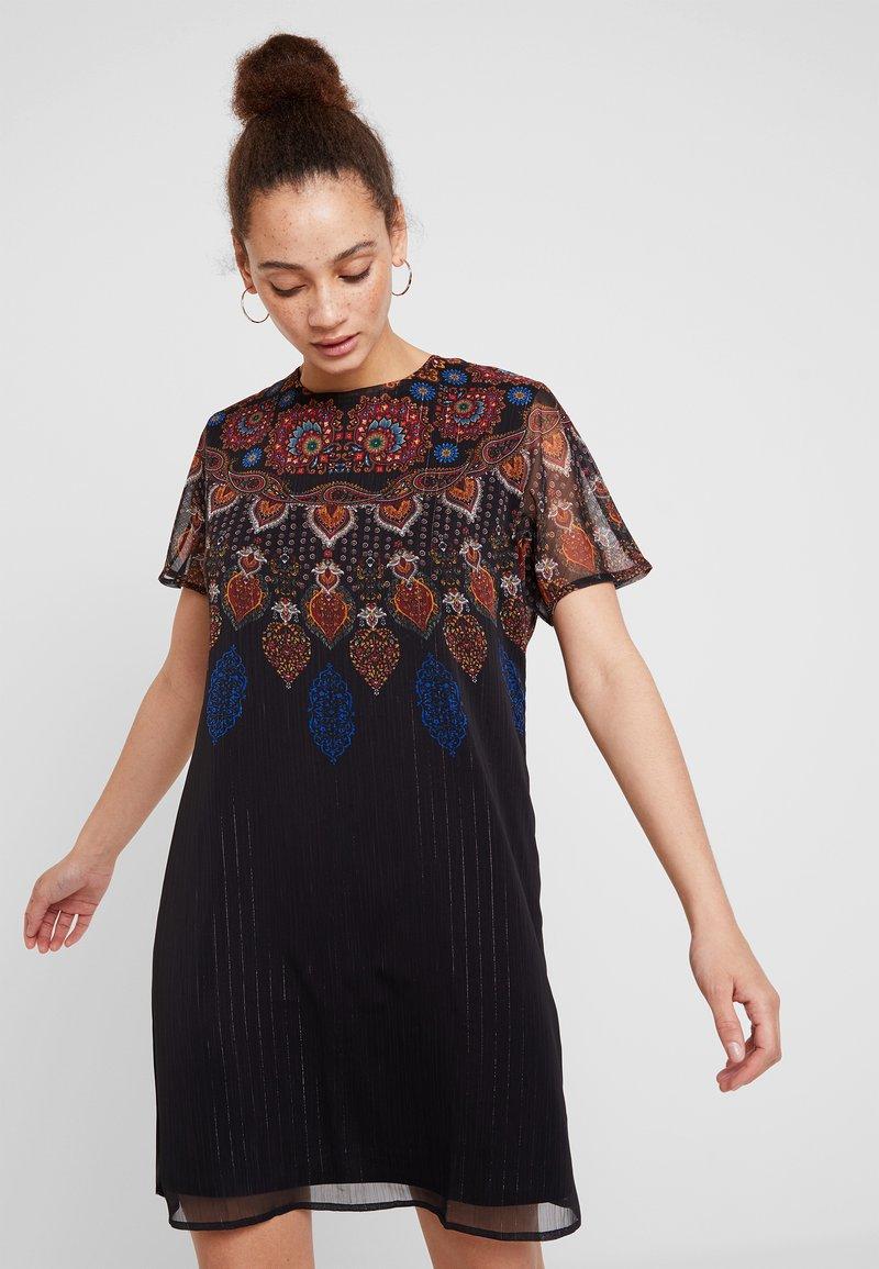 Desigual - VEST MEXICAN - Vestido informal - black