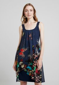 Desigual - BUTTERFLY - Sukienka letnia - azafata - 0