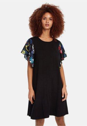 VEST_CRISBELL - Stickad klänning - black