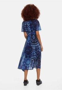 Desigual - Robe longue - blue - 1