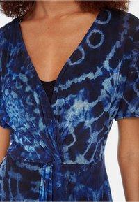 Desigual - Robe longue - blue - 3