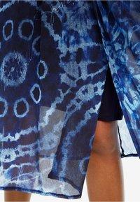 Desigual - Robe longue - blue - 2