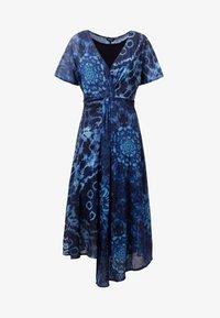 Desigual - Robe longue - blue - 4