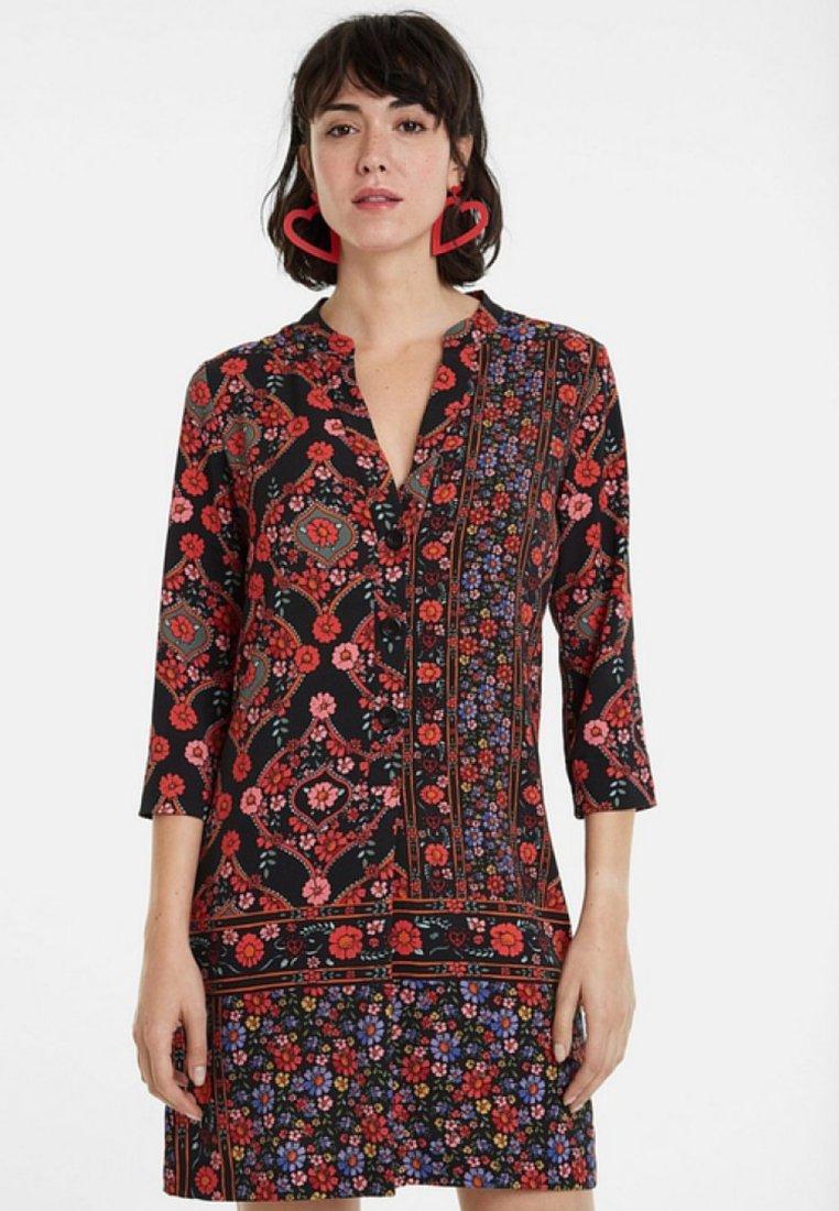 Desigual - VALERIA - Skjortklänning - black