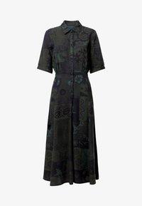 Desigual - VEST_GINEBRA - Sukienka koszulowa - green - 6
