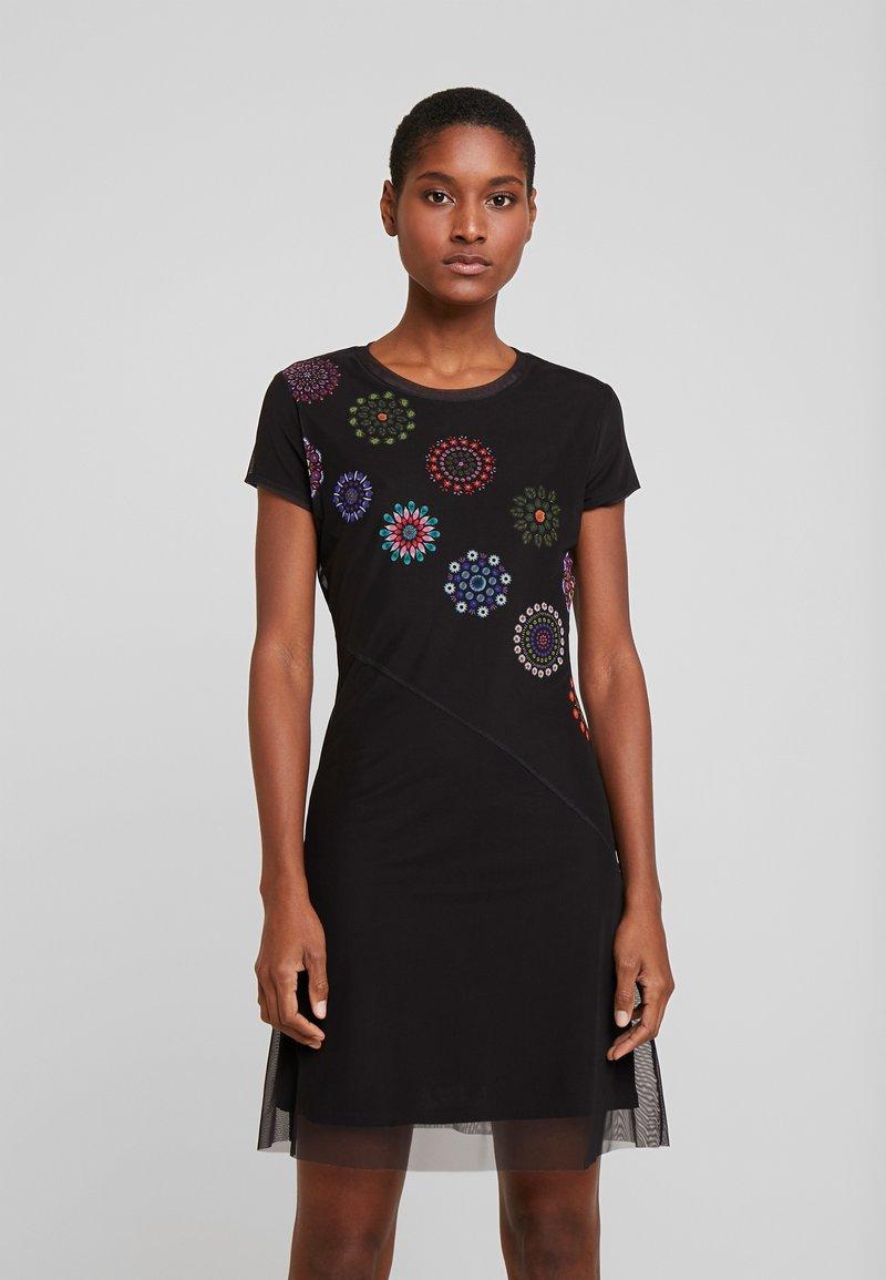 Desigual - VEST DAMMI - Vestido informal - multi-coloured
