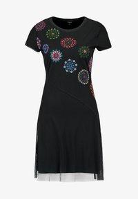 Desigual - VEST DAMMI - Vestido informal - multi-coloured - 4