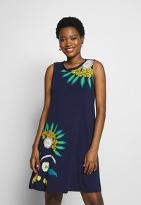 Desigual - LOVE OTHERS - Jerseykjole - navy - 0