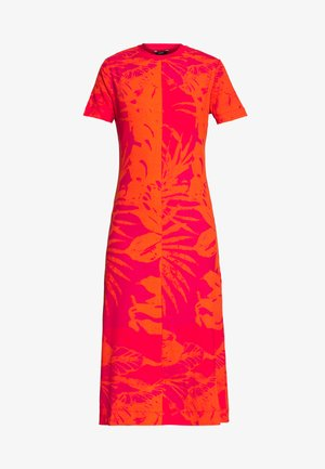 PARADISE - Day dress - rojo roja