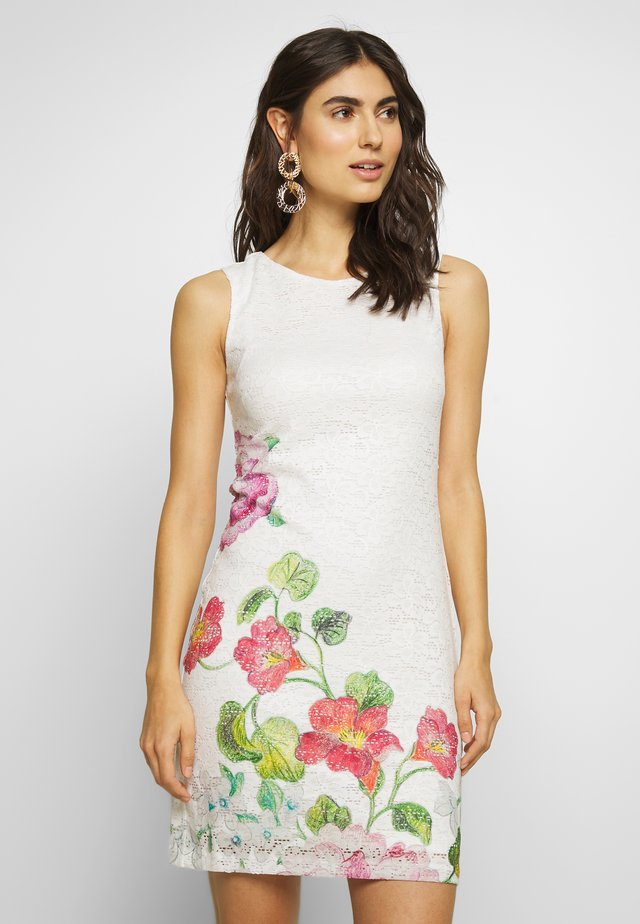 VEST BONNEY - Korte jurk - crudo