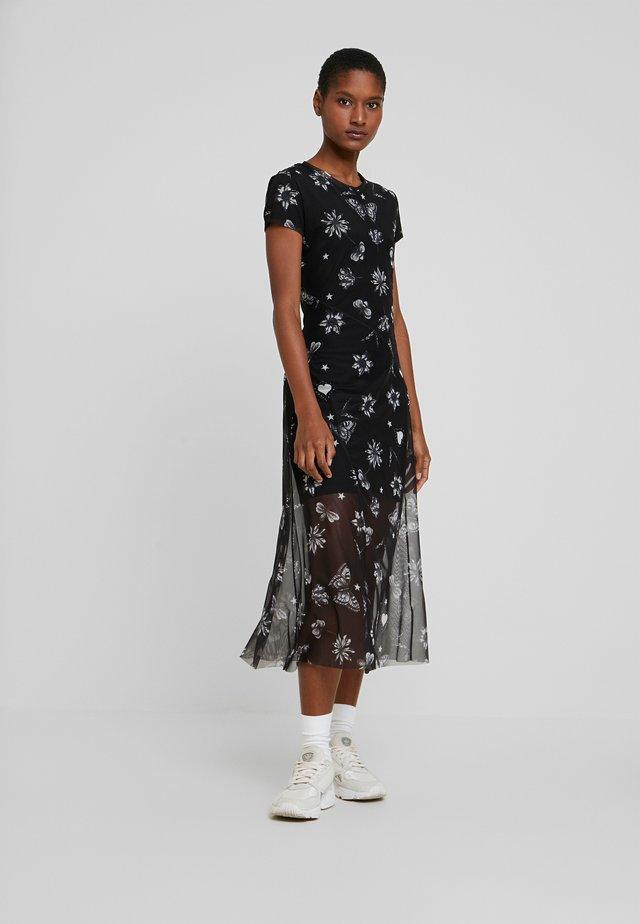 AUSTIN - Korte jurk - black