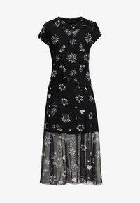 Desigual - AUSTIN - Korte jurk - black - 4