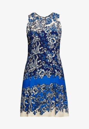 VEST ATENAS - Korte jurk - azul dali