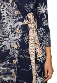 Desigual - VEST PACIFIC DREAM - Fodralklänning - navy - 4
