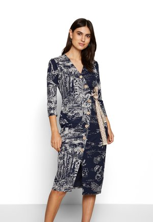 VEST PACIFIC DREAM - Shift dress - navy