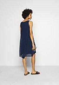 Desigual - CARNEGIE - Vestito estivo - azul tinta - 2
