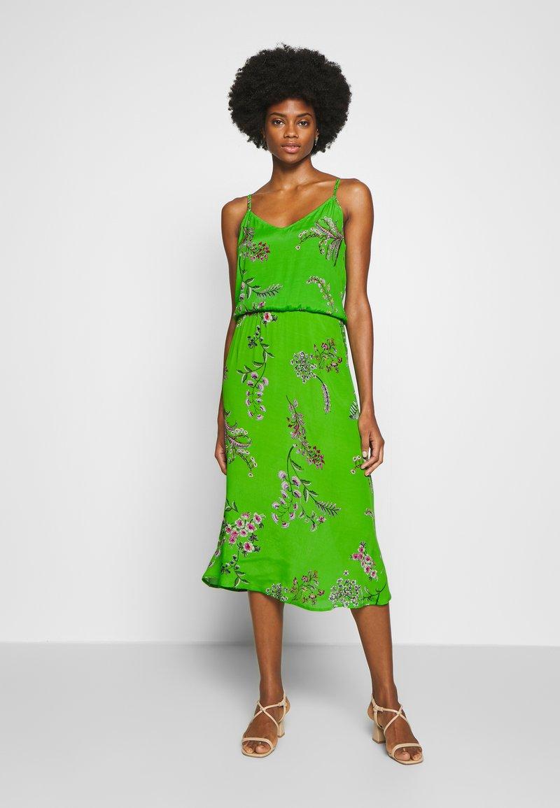 Desigual - VEST NEIDA - Korte jurk - lime green
