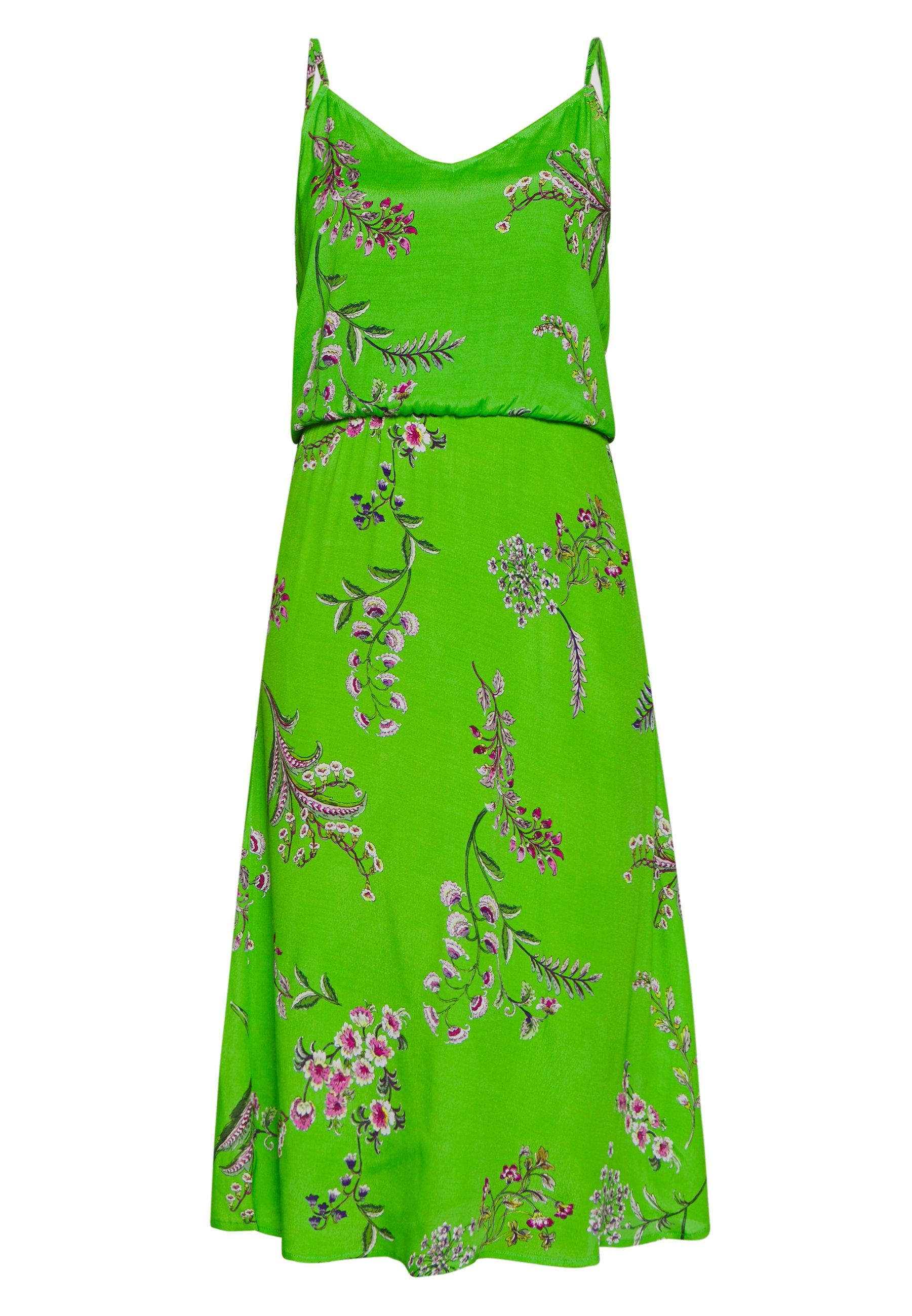 Desigual Vest Neida - Robe D'été Lime Green