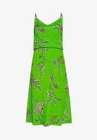 Desigual - VEST NEIDA - Korte jurk - lime green - 5