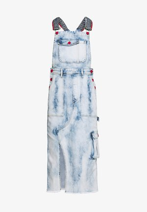 TOUCH THE SKY - Vestido vaquero - denim medium light
