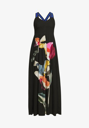 VEST LISBOA - Maxi dress - black