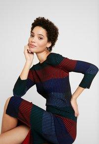 Desigual - TAMARA - Vestido de punto - multi-coloured - 5