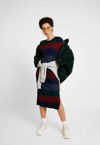 Desigual - TAMARA - Vestido de punto - multi-coloured - 2