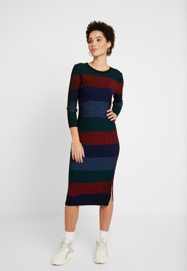 TAMARA - Jumper dress - multi-coloured