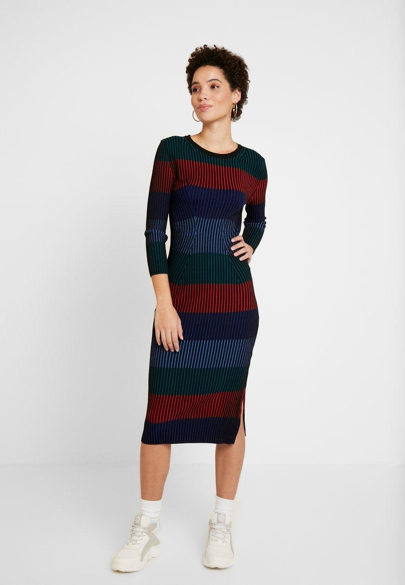 Desigual - TAMARA - Abito in maglia - multi-coloured