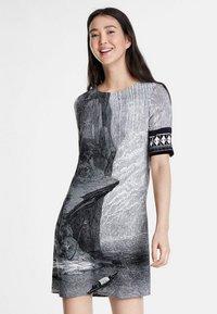 Desigual - DESIGNED BY CHRISTIAN LACROIX - Korte jurk - black - 0