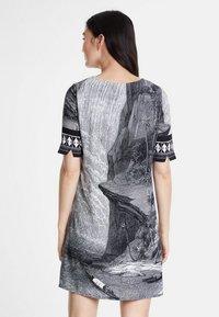 Desigual - DESIGNED BY CHRISTIAN LACROIX - Korte jurk - black - 2