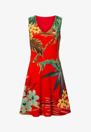 MEMPHIS - Day dress - red