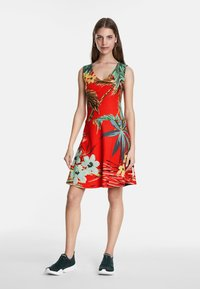 Desigual - MEMPHIS - Day dress - red - 1