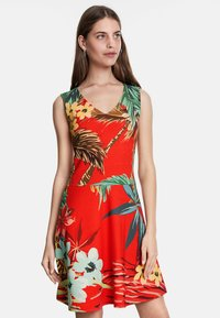 Desigual - MEMPHIS - Day dress - red - 0