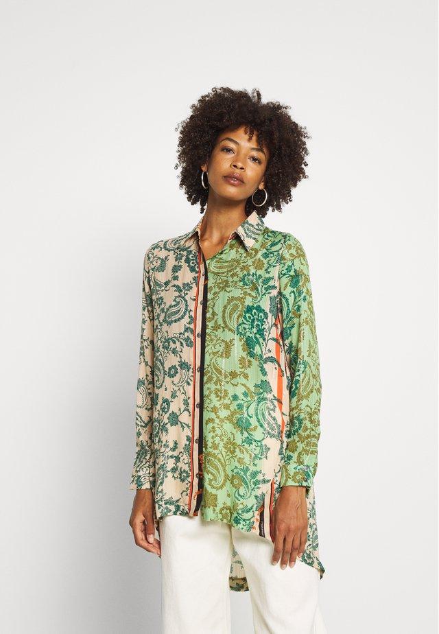 CAM SENA - Button-down blouse - viejo cactus