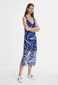 Desigual - VEST_BELMOPAN - Korte jurk - blue - 1