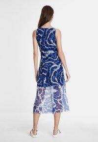 Desigual - VEST_BELMOPAN - Korte jurk - blue - 2