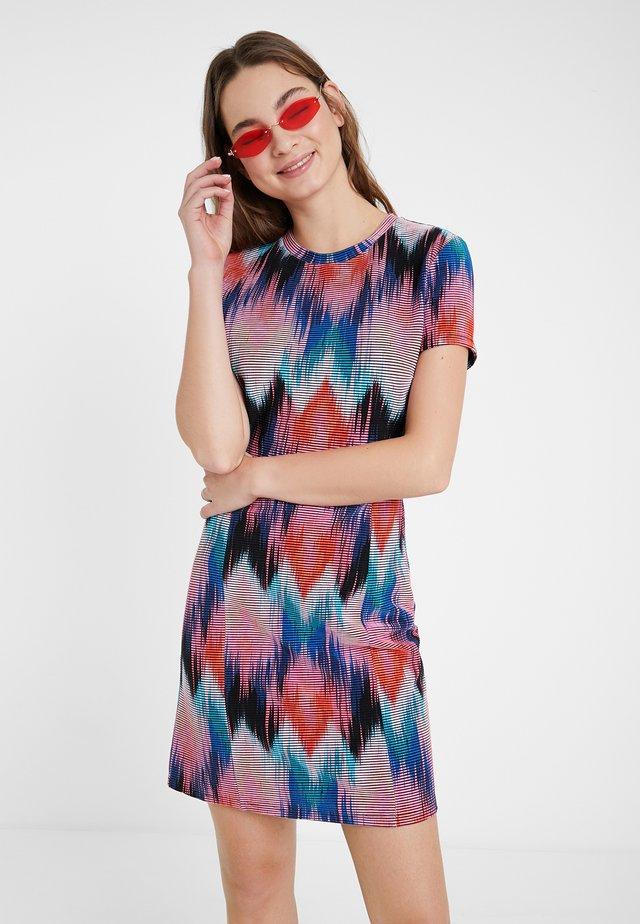VEST_PSICODELIC - Vestido de punto - multi-coloured