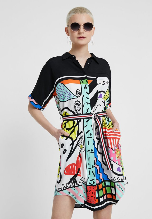 VEST_ARTY - Shirt dress - multicolor
