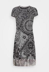 Desigual - VEST PARIS - Vestido informal - black - 0
