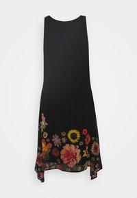 Desigual - VEST LUGANO DESIGNED BY MR CHRISTIAN LACROIX - Robe d'été - black - 5