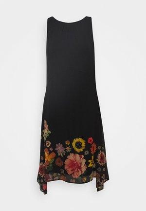 VEST LUGANO DESIGNED BY MR CHRISTIAN LACROIX - Vestido informal - black