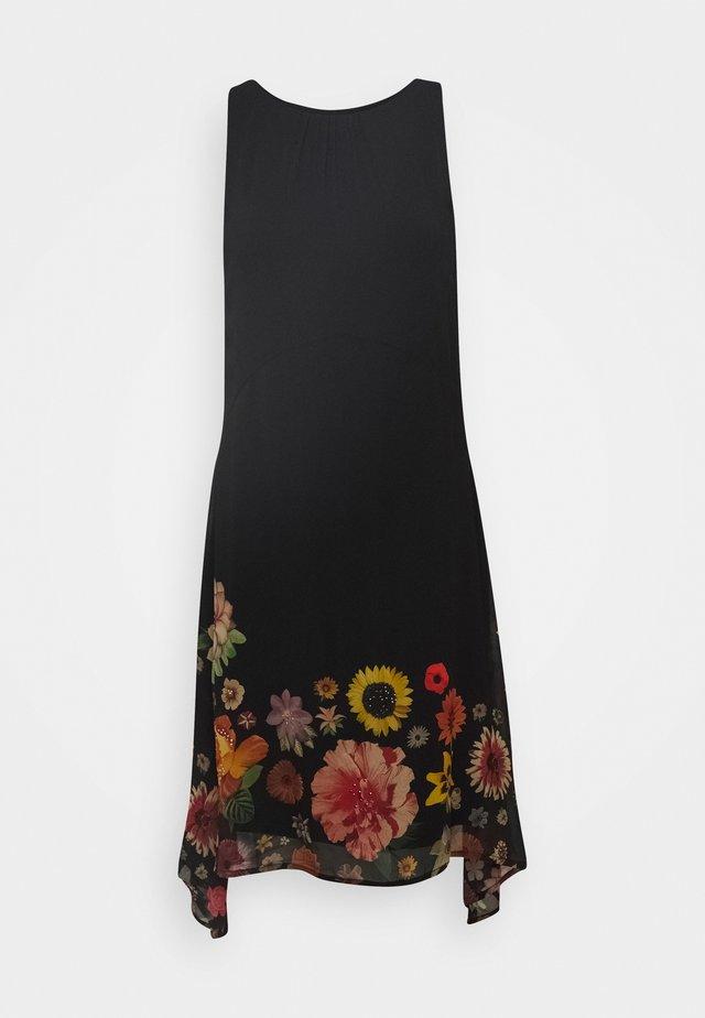 VEST LUGANO DESIGNED BY MR CHRISTIAN LACROIX - Sukienka letnia - black