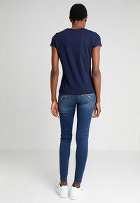 Desigual - NOA - Print T-shirt - blue - 2