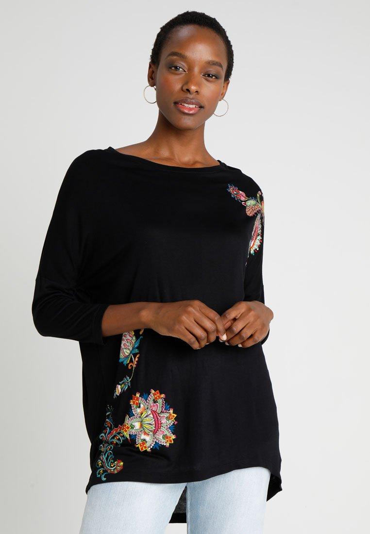 Desigual - T-shirt à manches longues - black