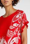 Desigual - CHEROKEES - T-shirt imprimé - red
