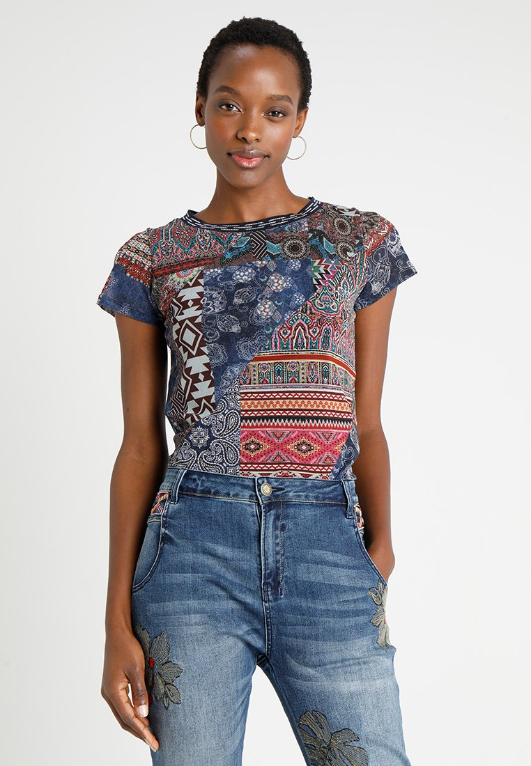Desigual - LUCIA - T-Shirt print - multi-coloured